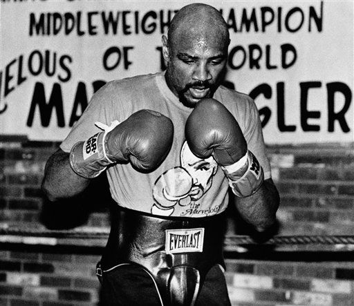 marvin hagler retains world middleweight title