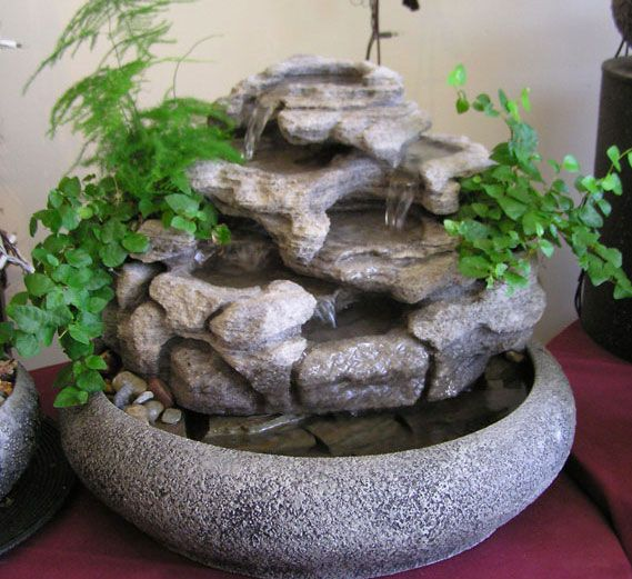 Large Indoor Tabletop Fountain W Live Plants Indoor Tabletop Fountains Tabletop Water Fountain Tabletop Fountain