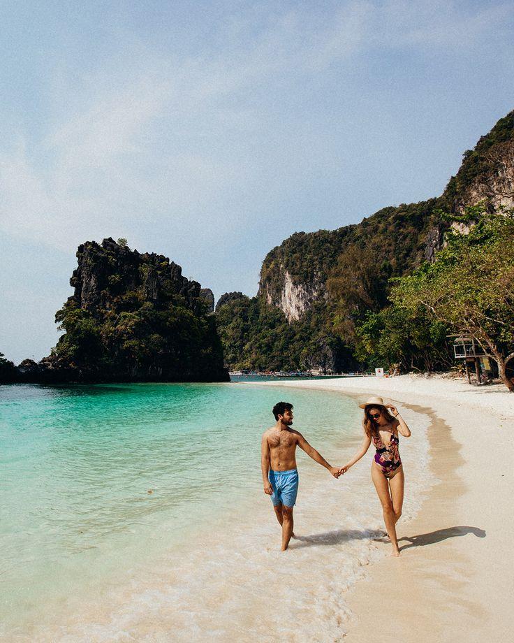 #thailand #hongisland #beach #couple #travel