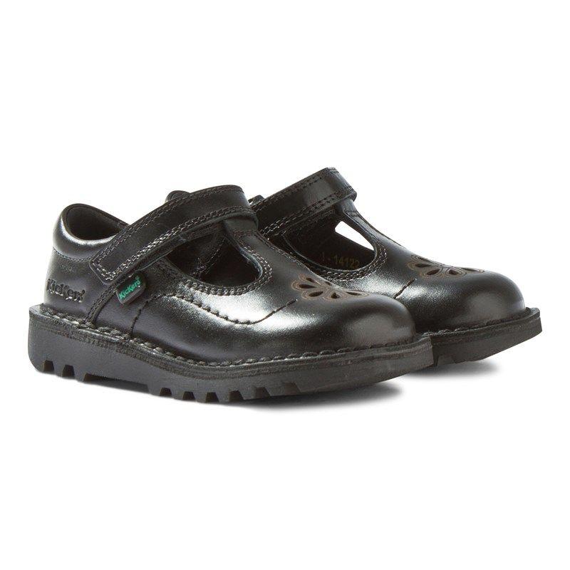Kickers Kick T Flutter Black Leather
