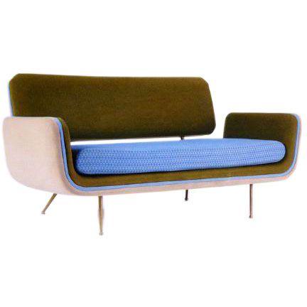 Alexander Girard; Sofa for Herman Miller, 1960s
