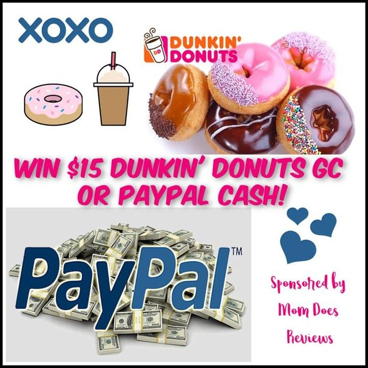 momdoesreviews posted to Instagram: Win $15 Dunkin Donuts GC or
