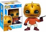 Name: The Rocketeer Manufacturer: Funko Series: POP! Disney Release Date: June 2013 For ages: 4 and up UPC: 830395032061 Details (Description): Fly sky high with Disneys Rocketeer! This Rocketeer Disney Pop! Vinyl Figure features courageous hero with rocket pack and helmet on, and pistol in-hand. Measures 3 3/4-inches tall..