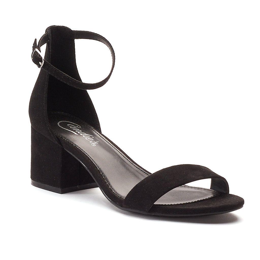 1661e489fc996 Candie s® Cosmos Women s Block-Heel Sandals