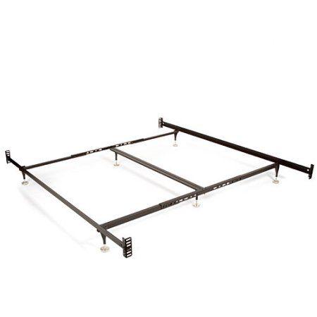 Bolt On Bed Rail Walmart Com Adjustable Bed Frame Metal Bed