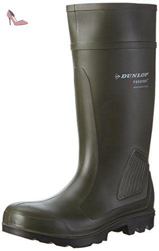 Dunlop , Chaussures de sécurité pour homme - Vert - vert, 11 UK