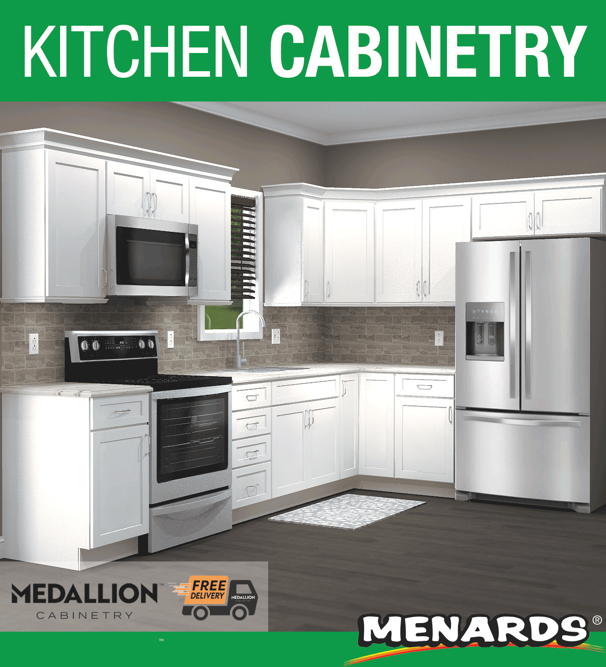 Medallion Cabinetry Hawthorne Sea Salt Kitchen Cabinets In 2020 Cabinet Garage Cabinets Medallion Cabinets