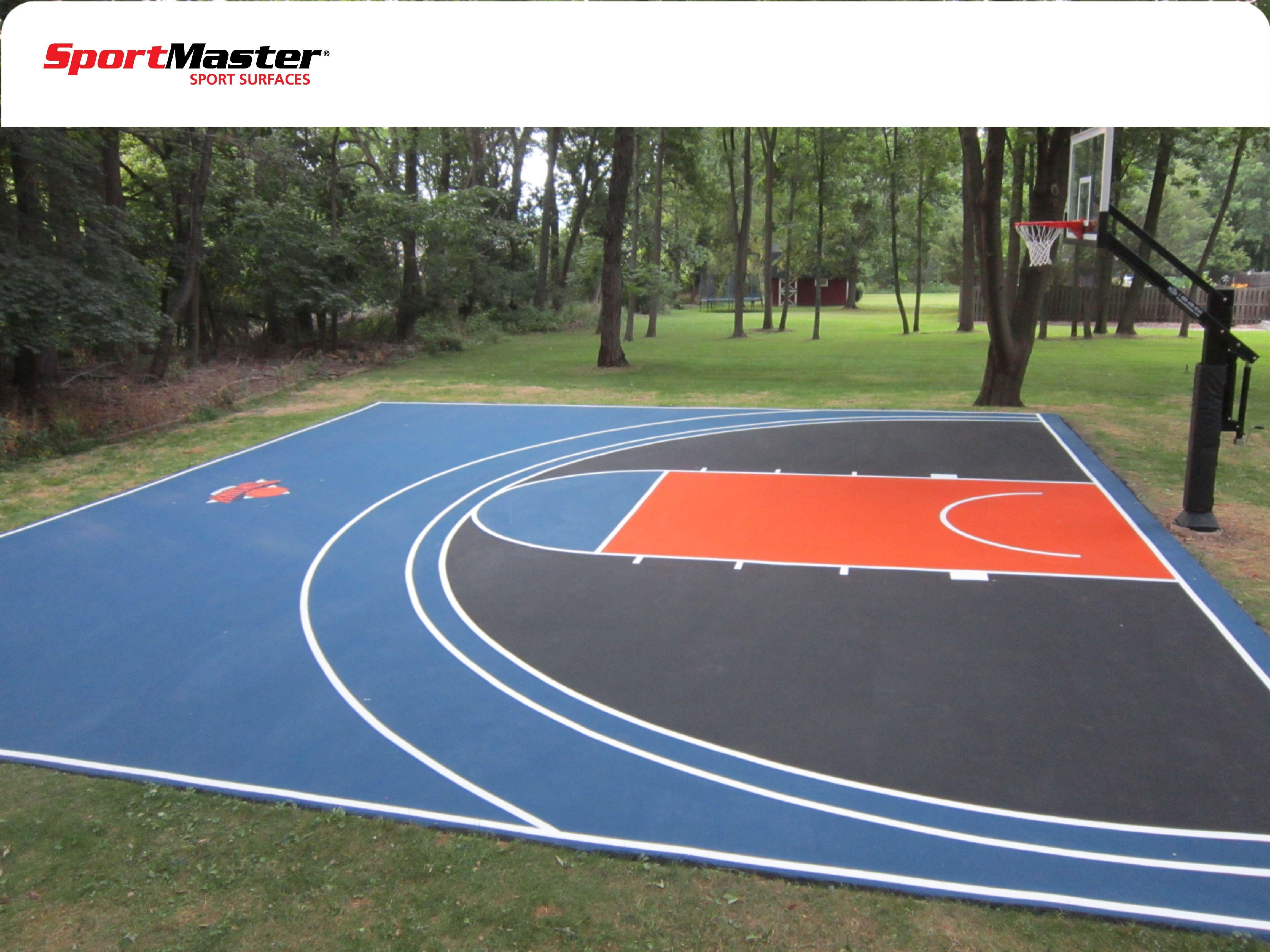 Custom Backyard Basketball Court Basketball Court Backyard Backyard Basketball Backyard Sports