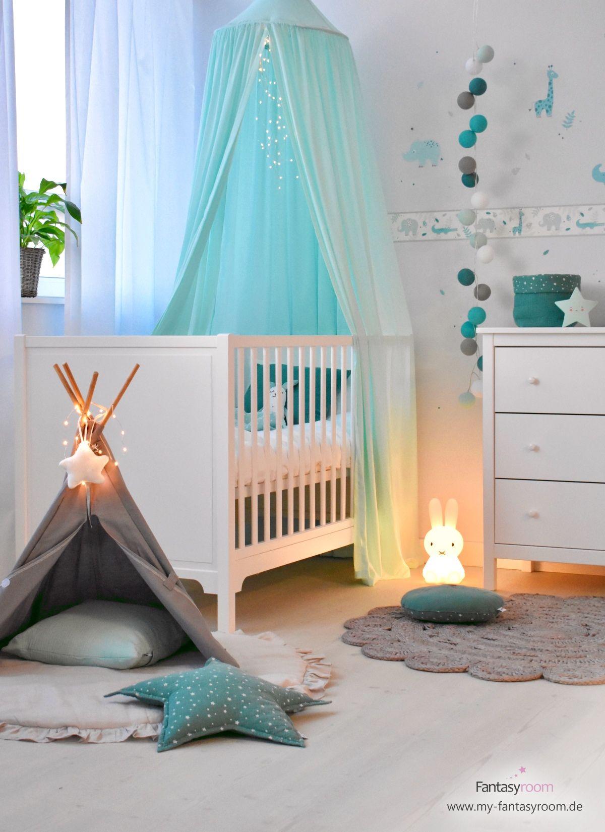 Wie kannst du ein Kinderzimmer in Mint einrichten? Wie