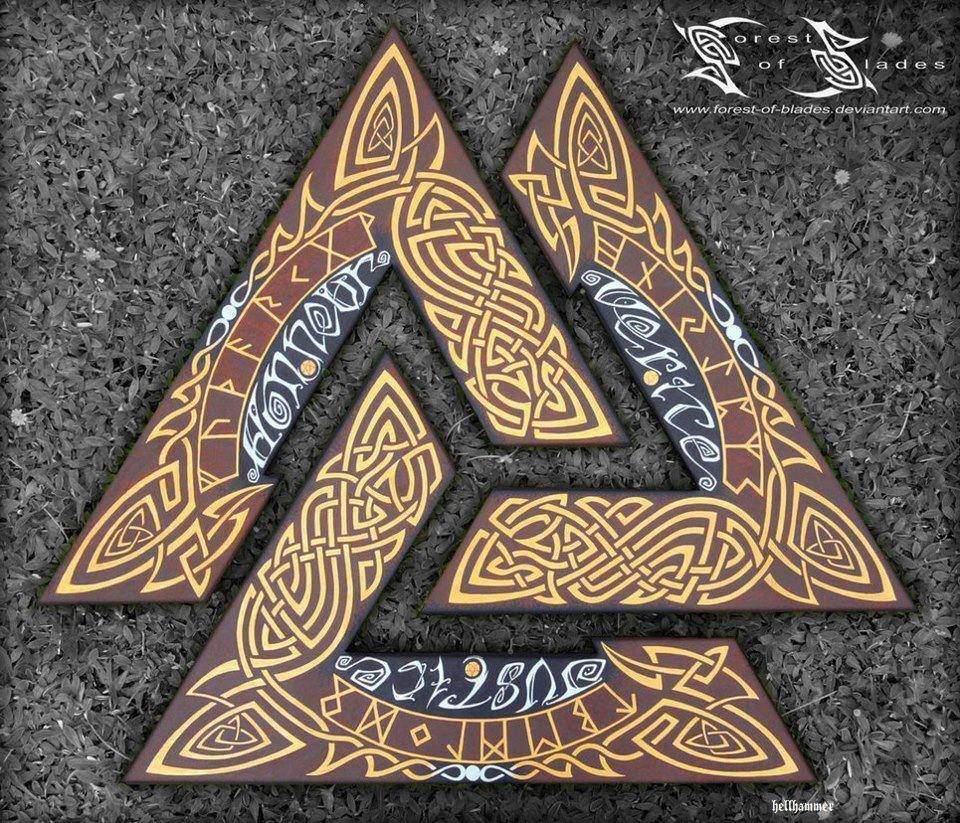 Beautiful Valknut I Want To Research This A Little More