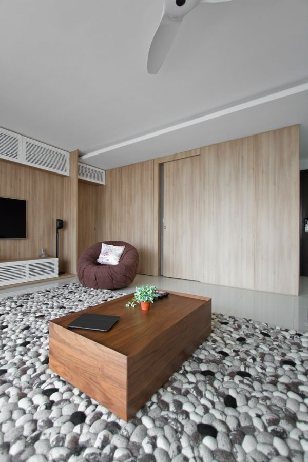 Genial Lovely Carpet Architects Home In Singapore: Natura Loft Apartment By AO  Studios