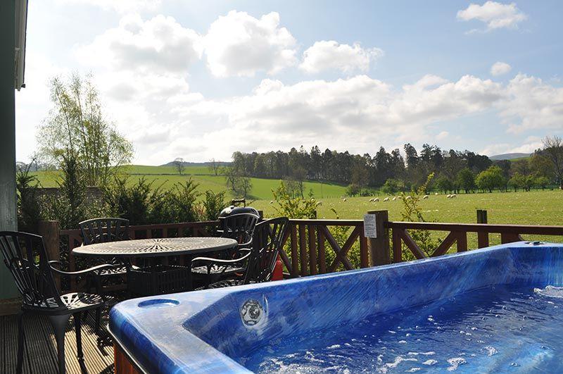 highland heather lodges combre crieff perthshire uk scotland