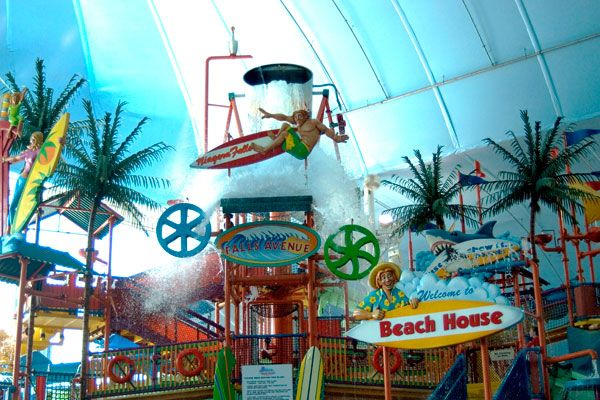 Niagara Tipping Bucket Was Just One Feature Of This Waterpark We