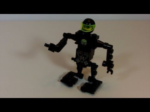 How To Build A Lego Robot Suit Custom Lego Instructions By Brick