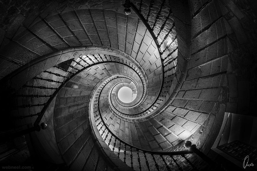 Rhythm The Spiralling Effect Of Staircase Exhibits Principle Regular Fact That Stairs Are Undifferentiated Allows For Flow