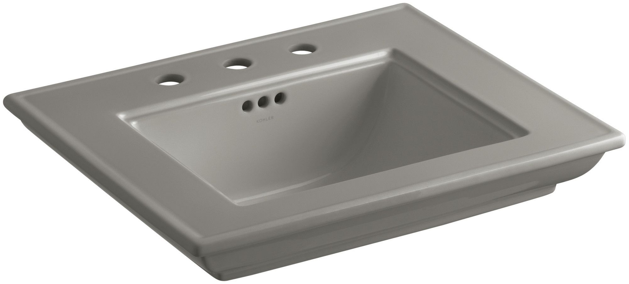"Memoirs Stately Bathroom Sink Basin with 8"" Widespread Faucet Holes"