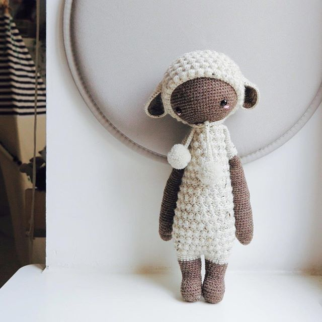 From Russia with love  Just because I like him ☺️⠀ .⠀ ⠀ → crochet pattern Lupo the l
