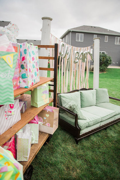 Summer Inspired Outdoor Baby Shower Decoration Ideas Summer Baby