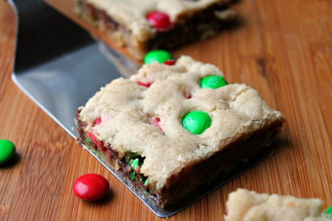 Cookie bars for christmas gifts
