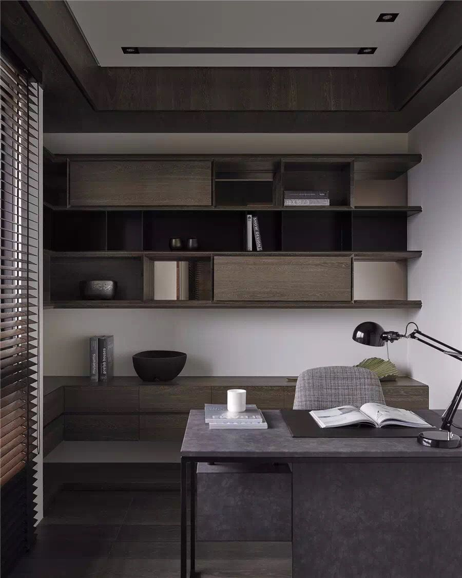 Contemporary Home Office Home Study Rooms Office Interior