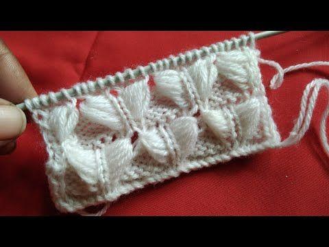 Sweater Design 50 - YouTube #knittingdesigns