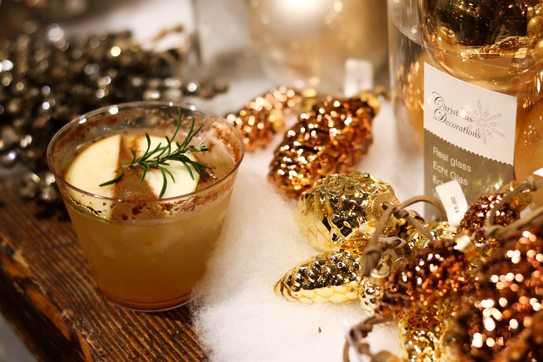 Kombucha and Mezcal holiday cocktails!