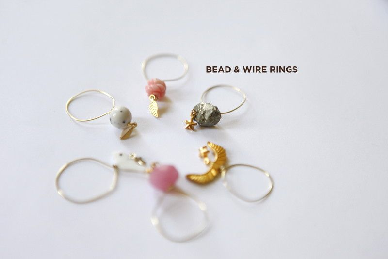 So these rings are super simple to make! MATERIALS NEEDED : Beads: I ...