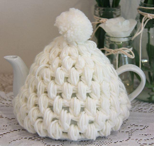 ❥Knit & Crochet Tea Cosies, Mug Hug Snugs and Cuppa Cosies. teacosy