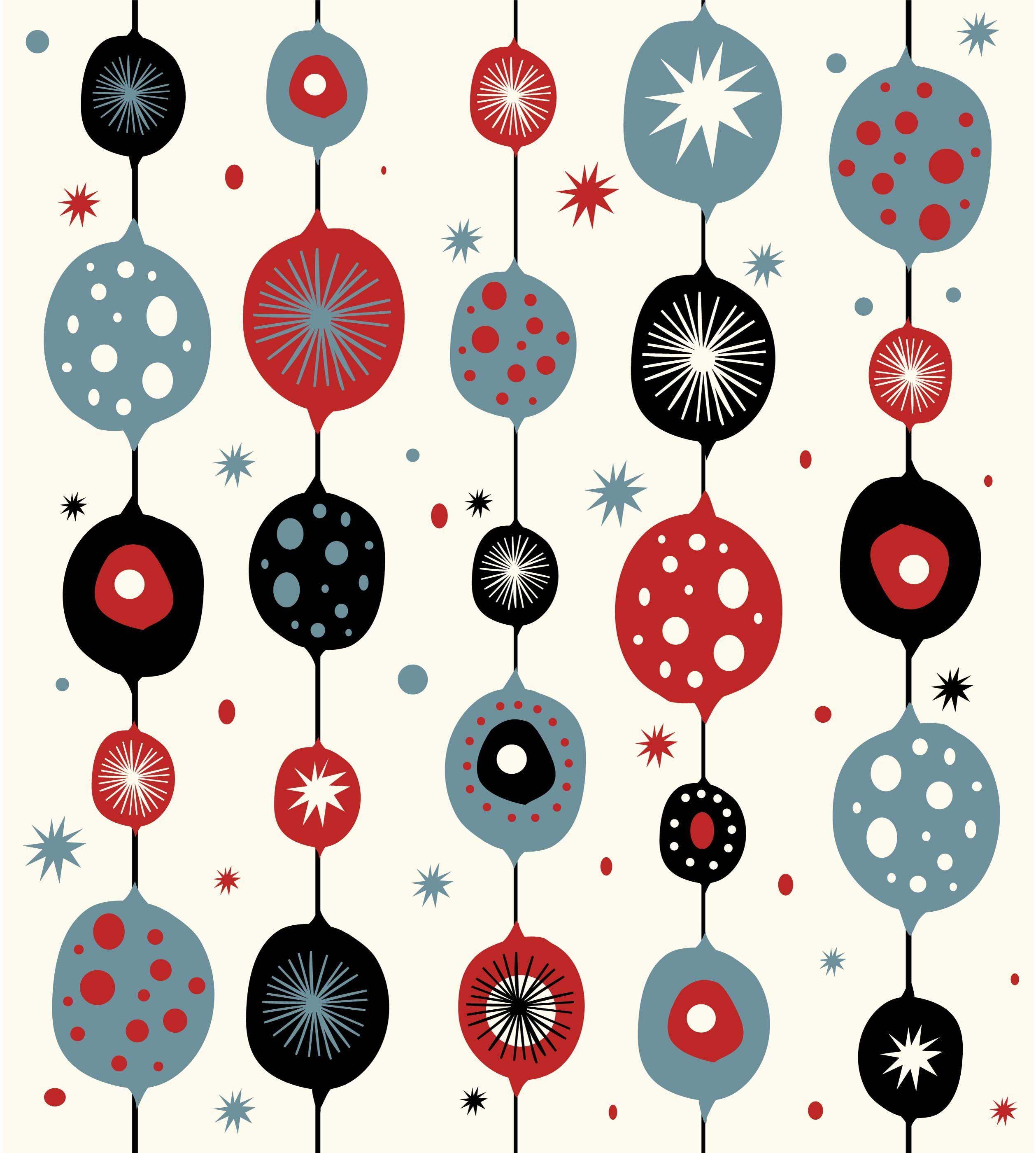 Google Image Result For Http://arteriorsfaux.com/blog/wp . Christmas  Illustration DesignMid Century ...