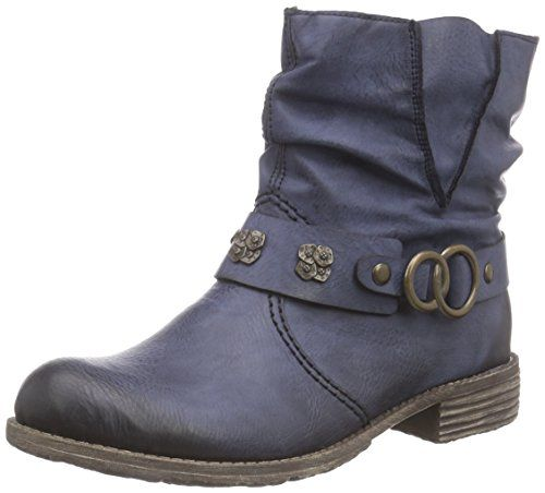 62eb09e9b25ca5 Rieker Women s Peggy 98 Ozean Synthetic Boots 7 B(M) US R... https ...