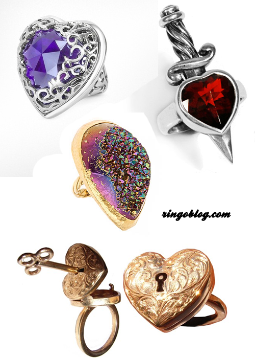 Pretty Little Liars Inspired Jewelry: Nine Rings for Stylish Aria's