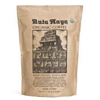 Ruta Maya Organic Coffee Dark Roast 2.2 Lbs. - http://www.freeshippingcoffee.com/specialty/organic/ruta-maya-organic-coffee-dark-roast-2-2-lbs/ - #Organic