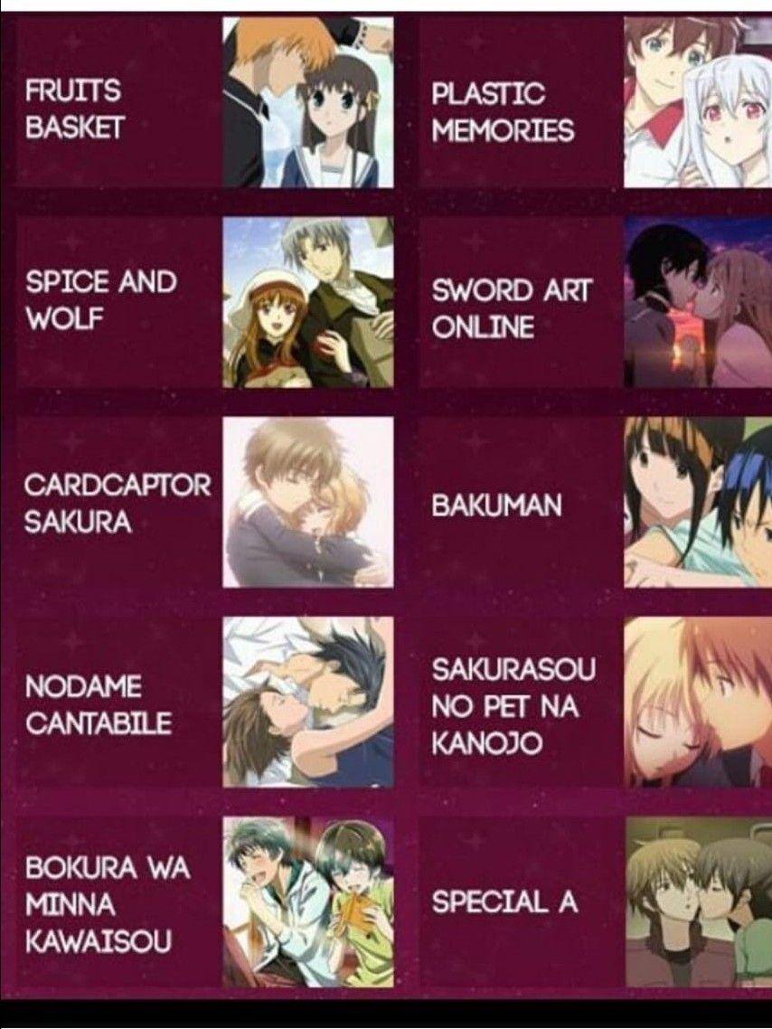 Daftar Anime Romantis : daftar, anime, romantis, Vanessa, Zamora, Anime, Romance, Anime,, List,, Romantic, Comedy