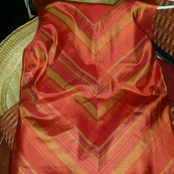 100%silk 2 piece pants set Beautiful 2 piece set. Never worn. David Warren  Pants Jumpsuits & Rompers