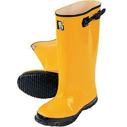 """17"""" Rubber Overshoe Boots, 11"""