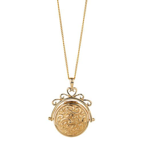ebbcab7317 10CT YELLOW GOLD SPINNER LOCKET | Michael Hill | Boner for metals ...