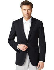 Marks & Spencers - Big & Tall Ultimate Performance 2 Button Blazer with Wool.