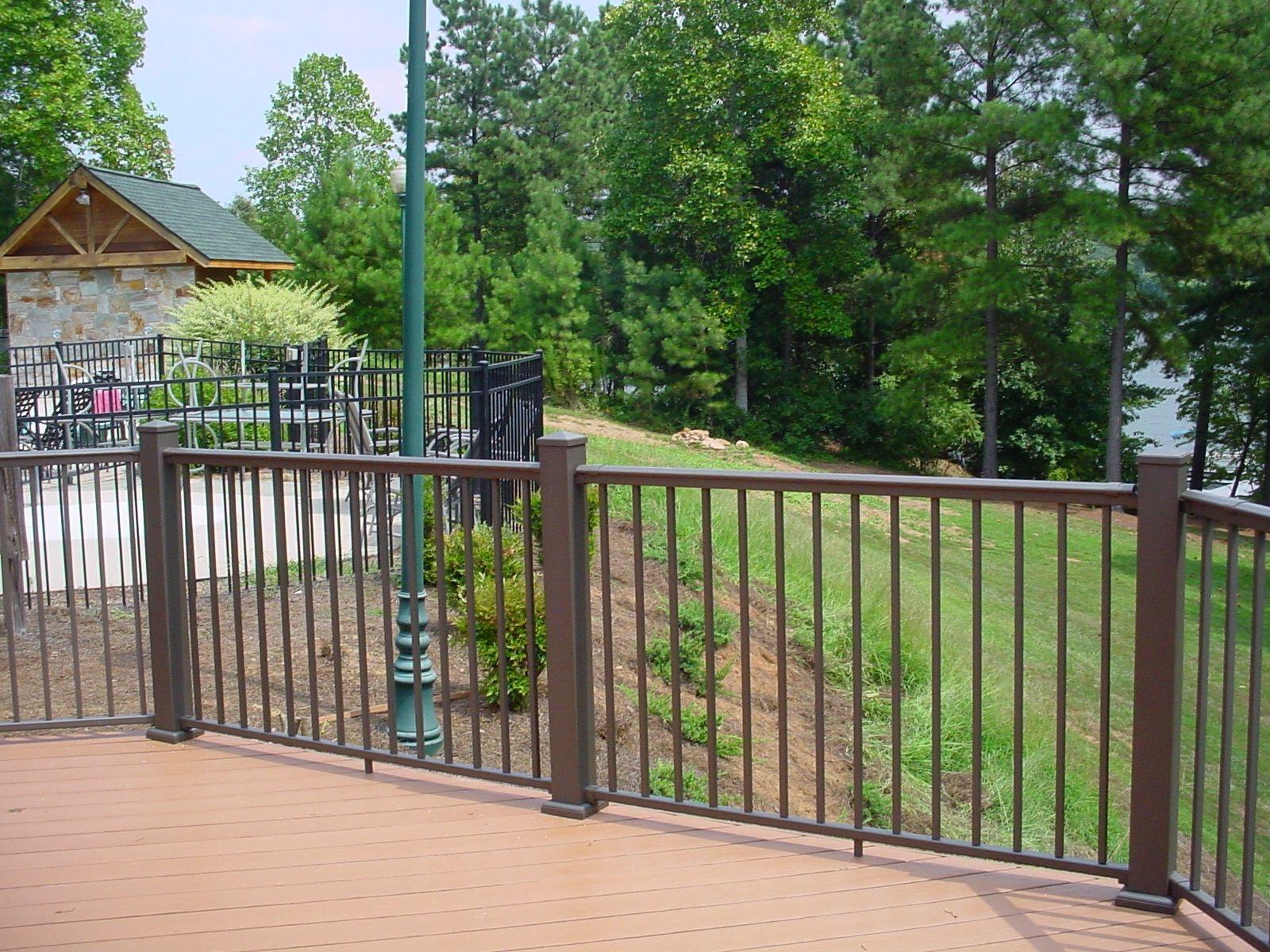 aluminum deck railing see 100s of deck railing ideas