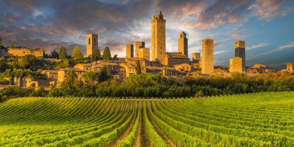 Roteiros do vinho – Toscana