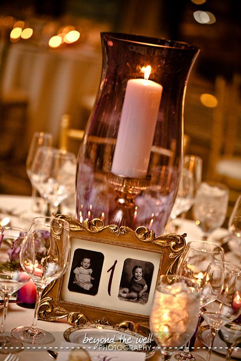 Cute Idea For Table Numbers When Two Become One Pinterest
