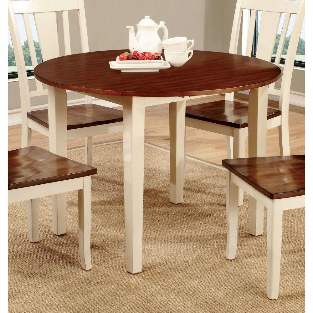 Earlton Curved Edge Round Dining Table Red White Homes Inside Out Dining Table Solid Oak Dining Table Round Dining Table