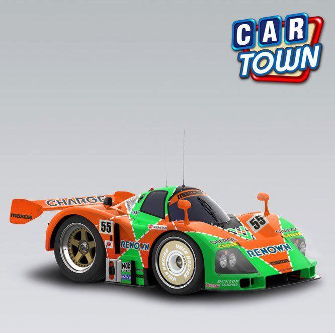 ¡Sorteo Del Auto Semana de La Velocidad! ¡Hemos seleccionado 10 jugadores con suerte para que reciban un Mazda 787B 1991 GRATIS! ¡Juega ahora Car Town y verifica tu Almacén de Autos para ver si fuiste uno de los jugadores seleccionados para recibir este premio increíble!    05/10/2012