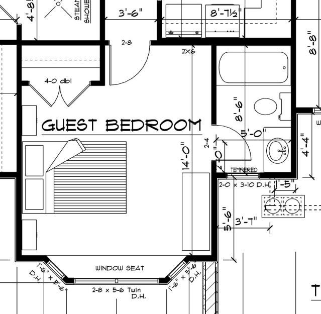 Example Of A Bay Window On Plan How To Plan Light And Space Floor Plans