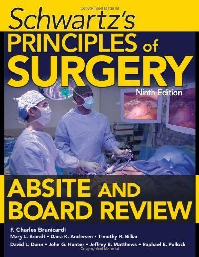 Download free schwartzs principles of surgery absite and board download free schwartzs principles of surgery absite and board review ninth edition 9th ninth fandeluxe Choice Image