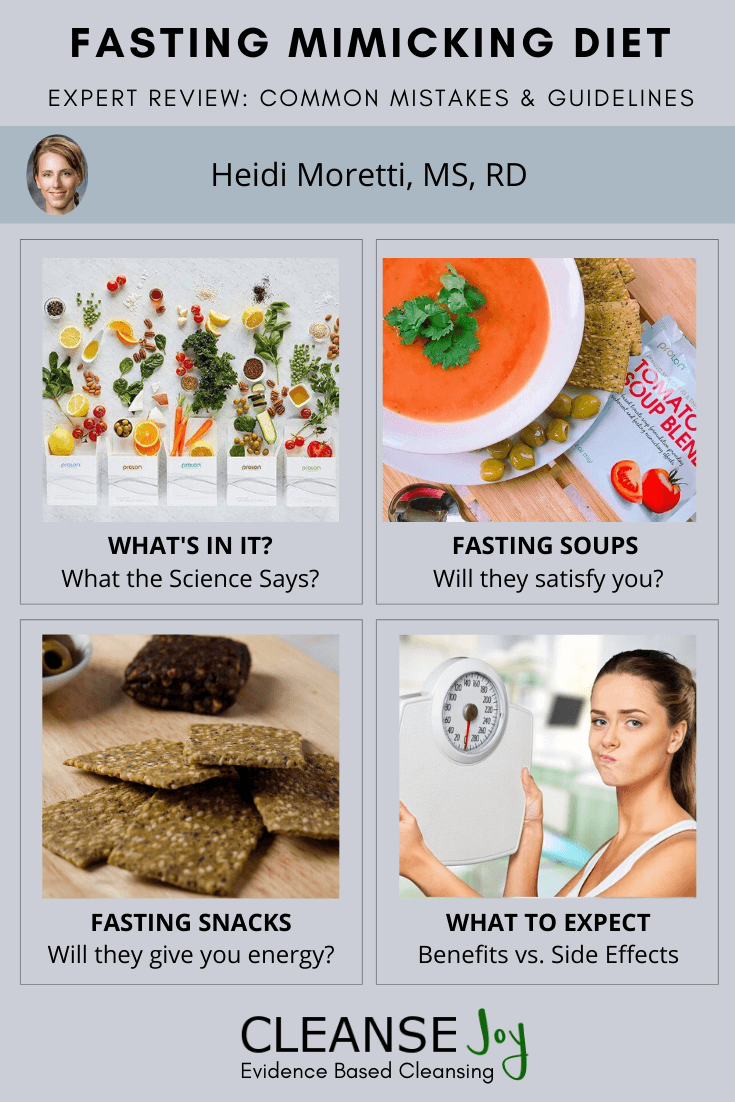 Fasting Mimicking Diet Expert Review Common Mistakes Guidelines Recipe 5 Day Meal Plan Diet Food Lists