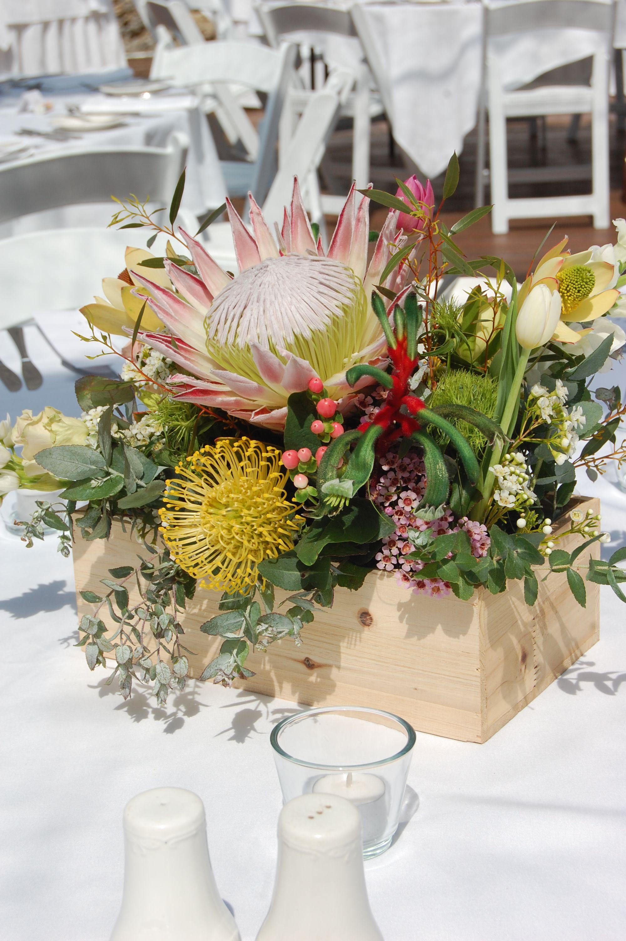 Australian Native Flower Table Arrangements