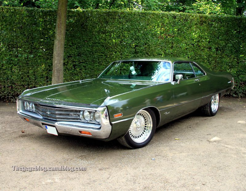 1971 Chrysler Newport Hardtop Coupe 2 Door Classic Cars Vintage