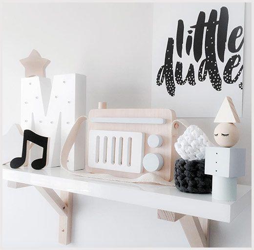 Children's decor, shelves by MiTAHLi DESIGNS