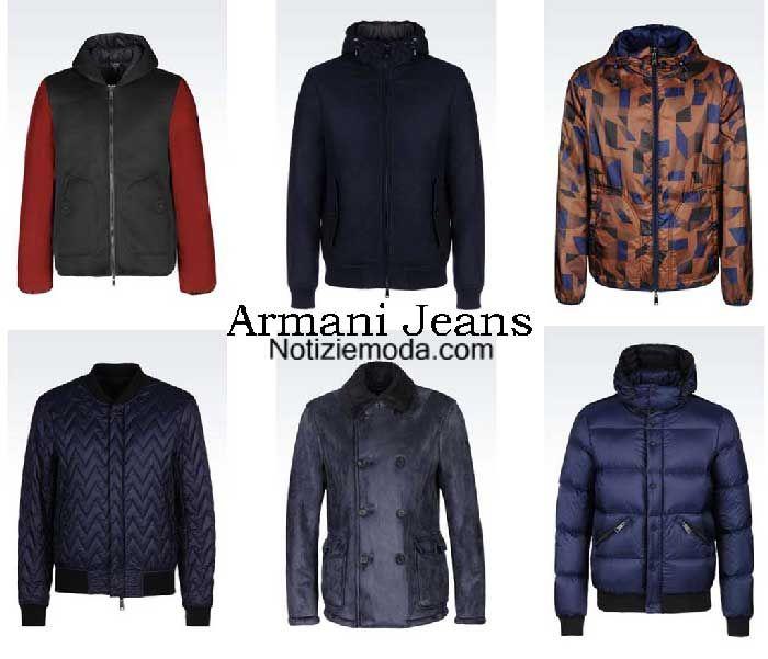 online retailer a9504 df8c6 Giubbotti Armani Jeans autunno inverno 2016 2017 uomo | Moda ...