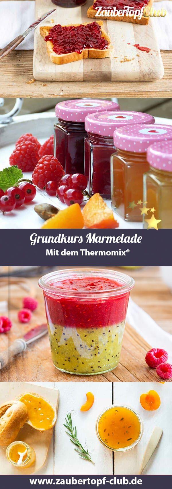 Marmelade – Der Grundkurs für Rezepte aus dem Thermomix